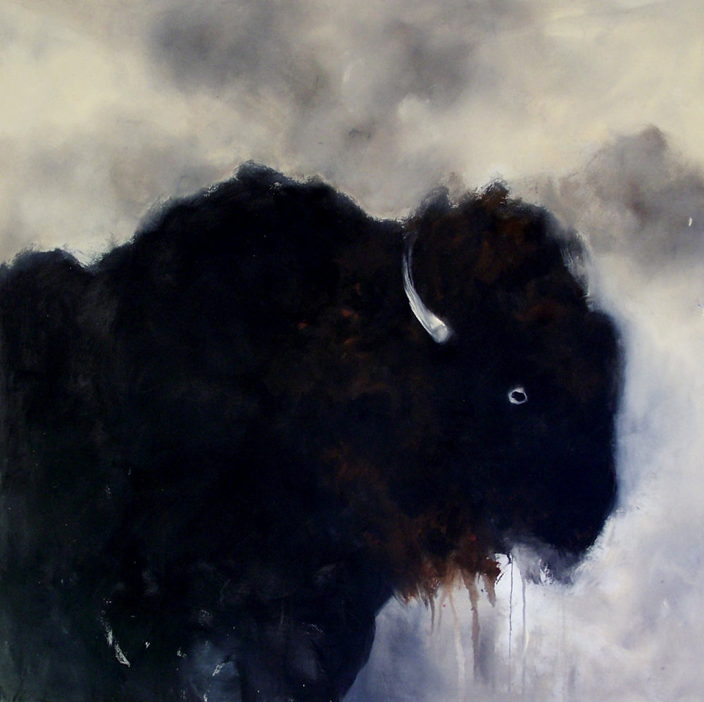 The Spirit of the Black Hills, 52x52, acylic