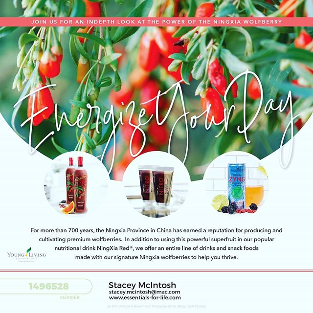 "NingXia Red + NingXia Nitro + Mindwise = actual energy and actual clear thinking. Bye bye afternoon slumps, bye bye desperate need for coffee, bye bye brain fog.  The combination of these three are an incredible treat!  NingXia Red has ridiculous levels of anti-oxidants that help repair wear and tear on our bodies that we all have.  NingXia Nitro is not only for athletes, but for exhausted moms on the go who need the sustained energy.  Mindwise provides the nutrients your brain needs to stay strong and pliable...not, ""What did I come in this room for?"" or ""Where did I put my keys?"" #youngliving #younglivingessentialoils #rootedessentials #essentialoils #essentialsforlife #plusoilsteam #ningxiared #ningxianitro #ningxiazyng #mindwise #antioxidant"