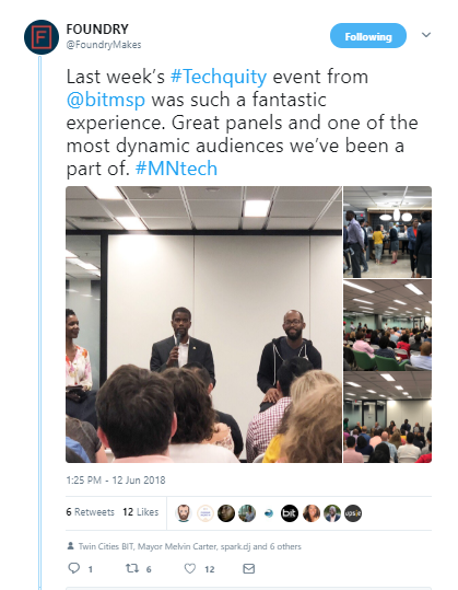 techquity tweet foundary.PNG