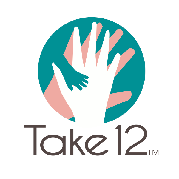 Take 12    A crowdfunding service allowing friends and family to relieve the financial stress of unpaid maternity leave for working mothers by giving financial gifts in lieu of a traditional baby registry.