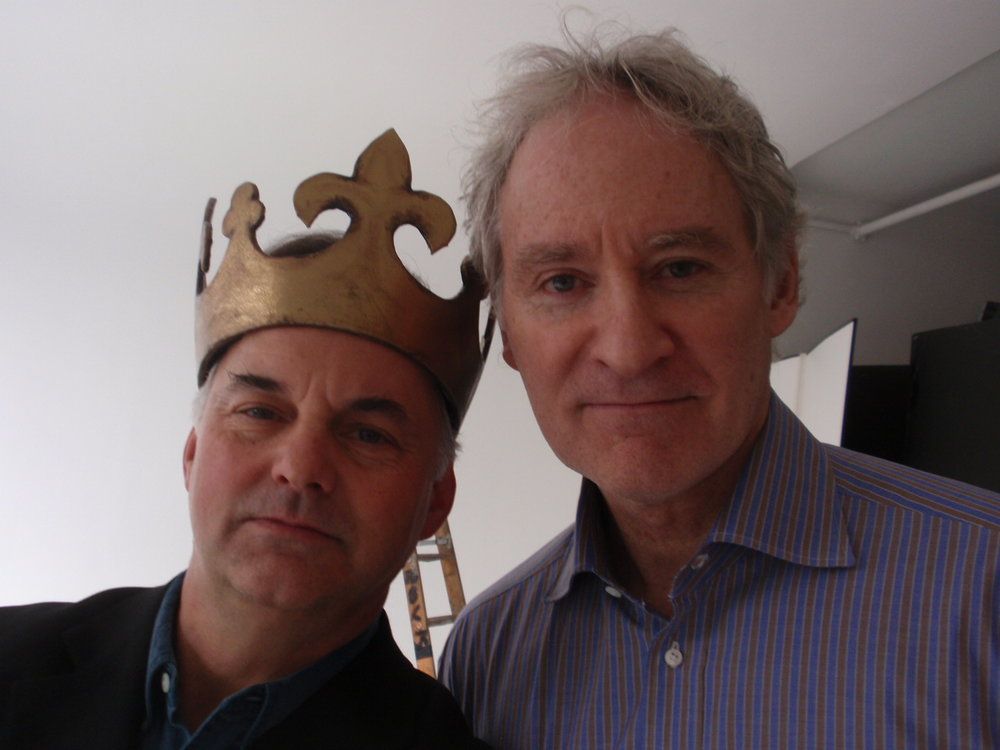 Publicity photo for The Acting Company's production of  Henry V  with founding member Kevin Kline (Photo by Ian Belknap)