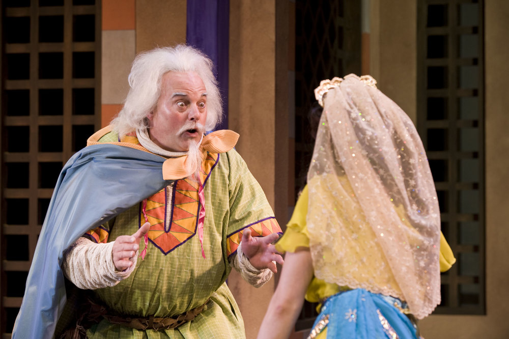 Dromio of Syracuse in Comedy of Errors for the Utah Shakespeare Festival (Photo by Karl)