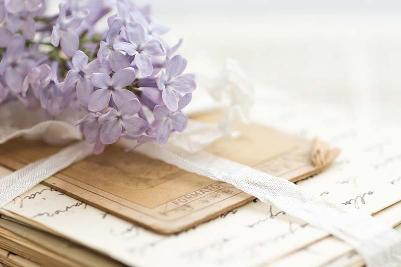 We can scan old photographs, documents, letters, and even items like recipe cards and journals!