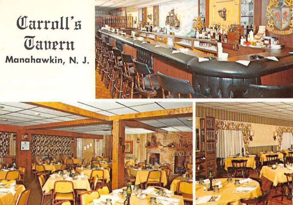 Carroll's Restaurant in Manahawkin, circa late 60s.