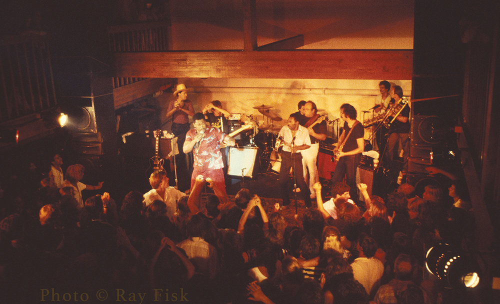 Clarence Clemons and the Red Bank Rockers. Photo: Ray Fisk.