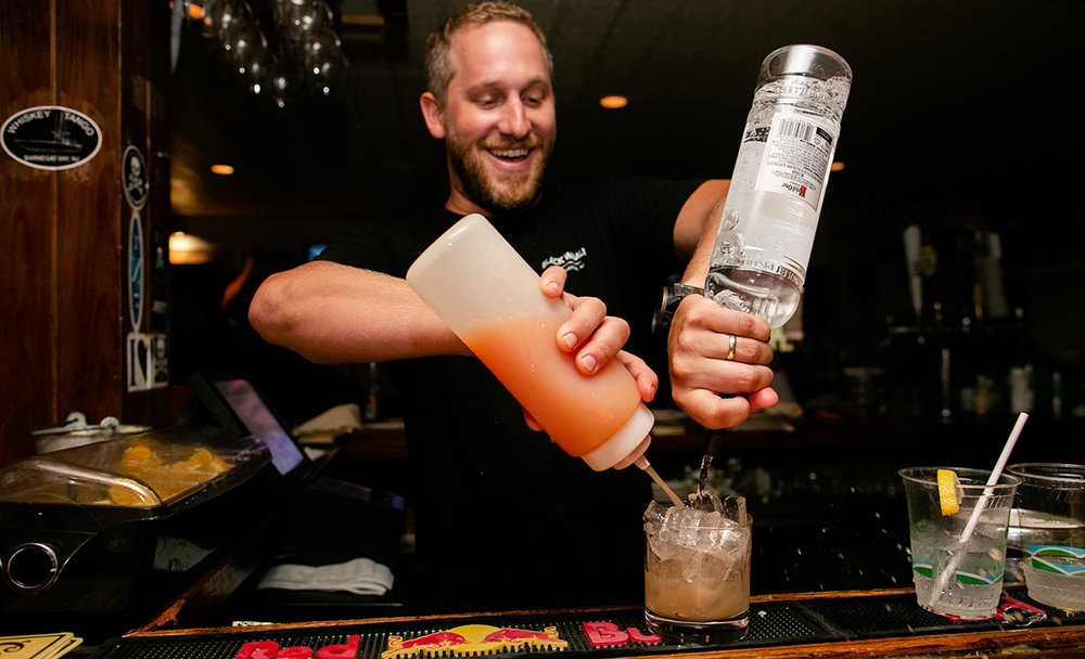 Kurt's still got the bar running as ever, just with a little more space. Photo: Ryan Johnson.