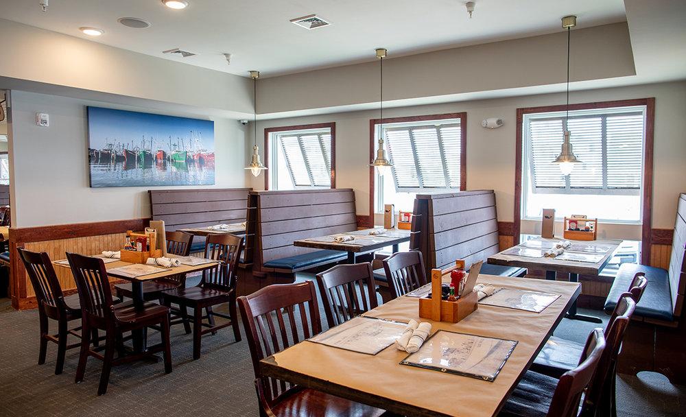 The extended dining room. Photo: Ryan Jonhson.