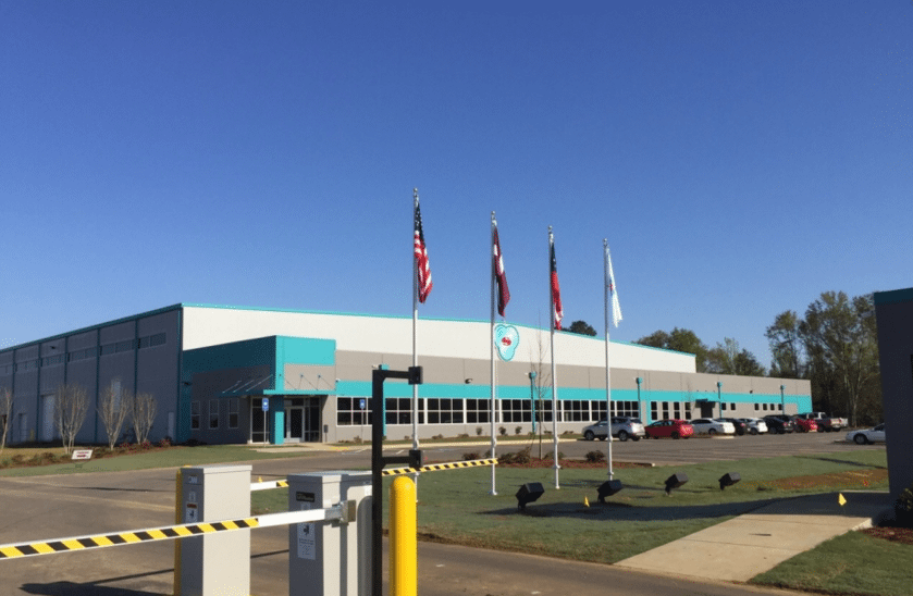 Valmiera Manufacturing Plant: Dublin, GA
