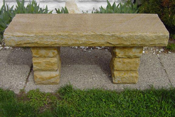 Briar Hill Sandstone Bench