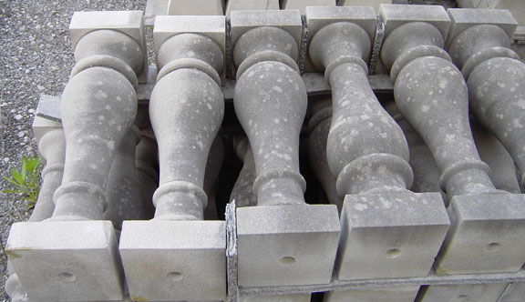 Indiana Limestone Balasters