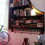 piano - shelf