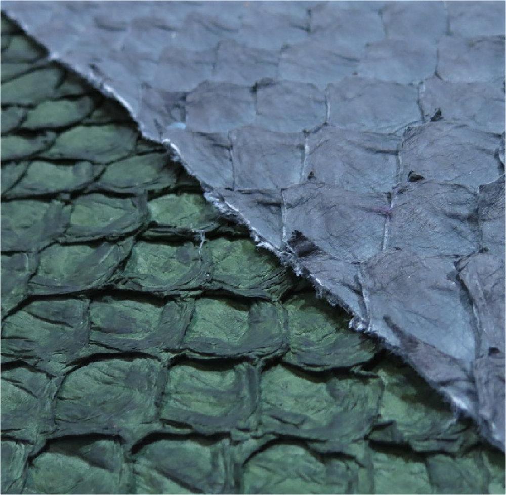 Sustainable fish skin