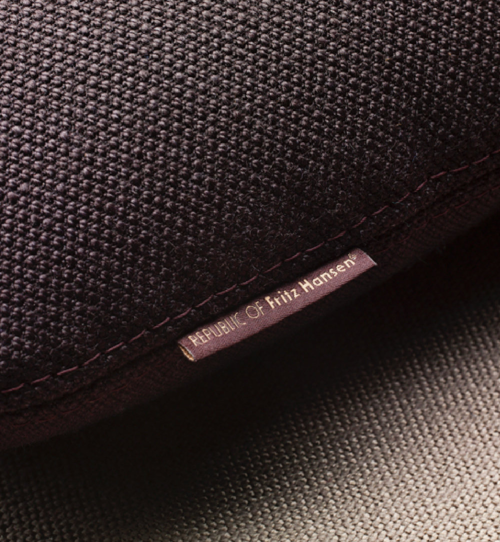 Simple textile brand label always signifies quality and craftsmanship