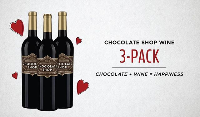 All you need is love...and wine! Snap up a 3-pack in time for Valentine's Day. Link in bio.