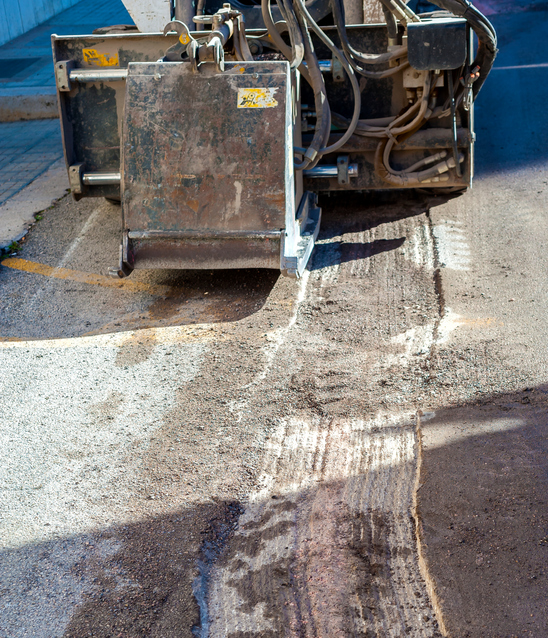 Pavement milling in Nashville TN