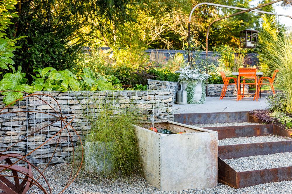 Eclectic Urban Garden | Seattle