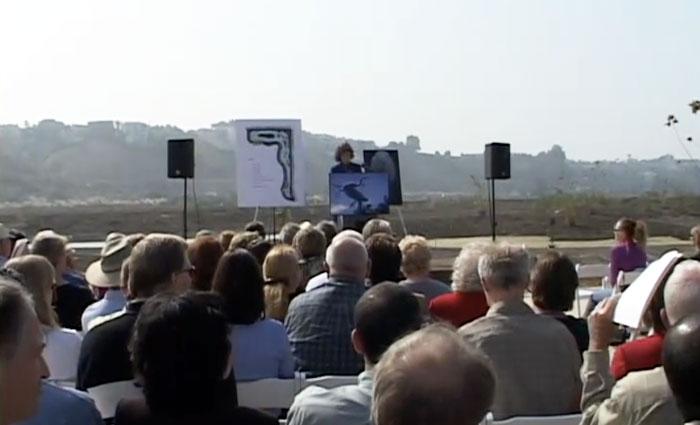 Dedication of the Freshwater Marsh, 2003