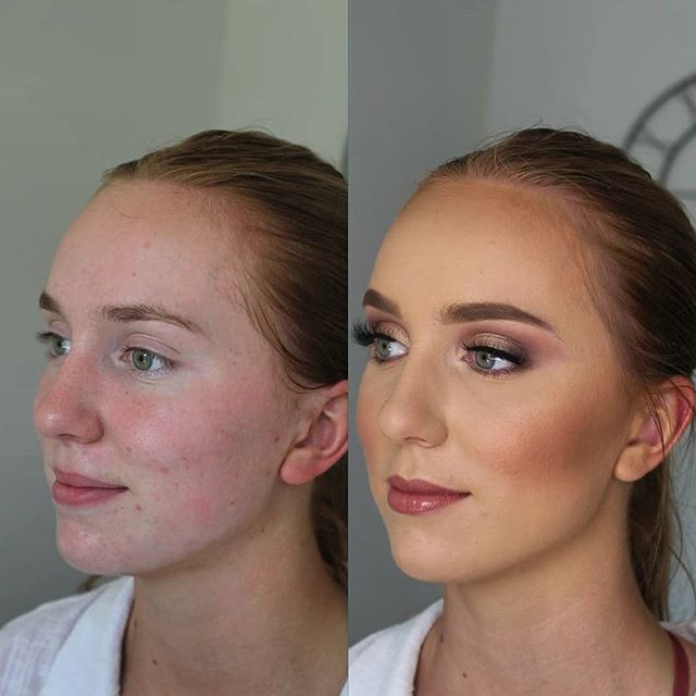 Airbrush for the win. An up close and personal demo of how much airbrush foundation and contour can make a huge impact in your special occasion look. Book airbrush today. Before and after bridesmaid makeup ly for evening wedding. #oregonbride #Washingtonbride #portlandmua #portlandmodel #washingtionwedding #washingtonmakeupartist #airbrushmakeup #flawlessskin #mua #northwestmakeupartist