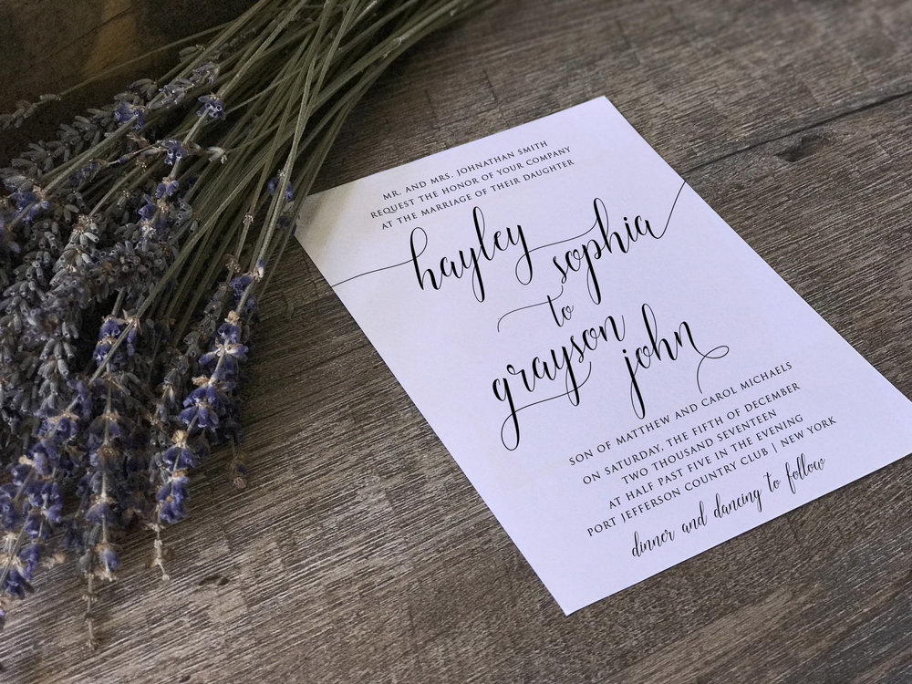 Shades of Grace - Wedding and Event Stationery
