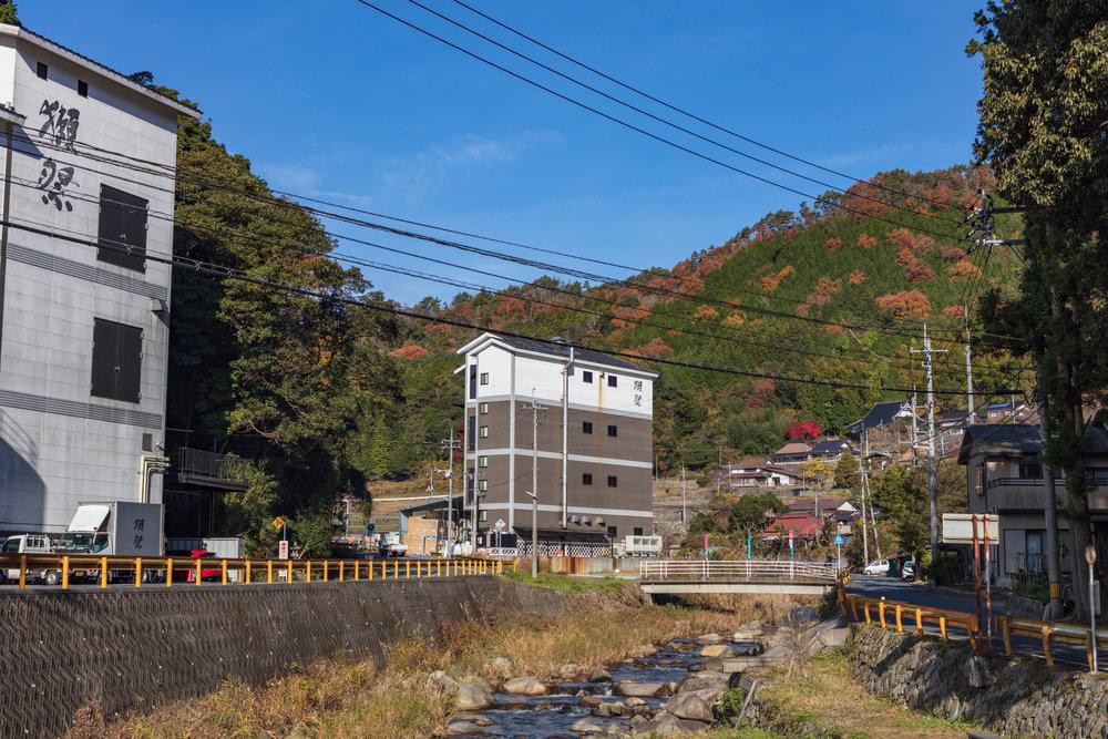Old Asahi Brewery building