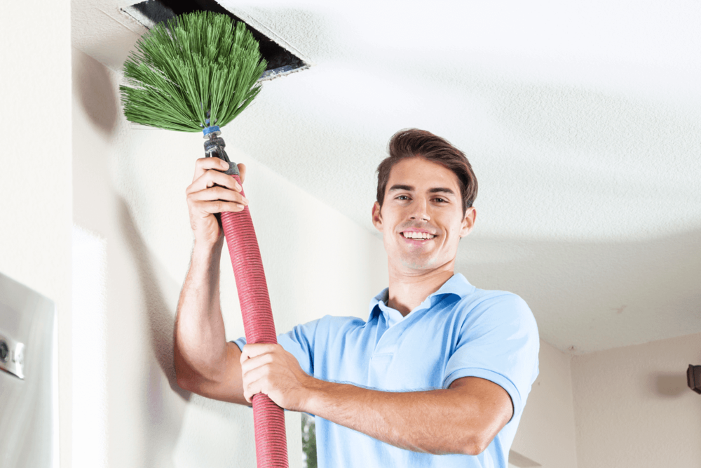 AIR DUCT CLEANING - Allergies or dust becoming a problem in your home? Call today to see how we can help make the air circulating in your home cleaner for your family!