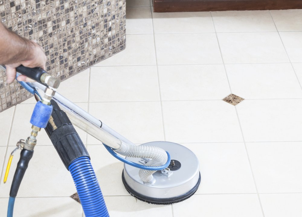 TILE CLEANING - Let's face it, tile and grout is a bummer to keep clean. Let us do the work and we'll give new life to the tile floors in your home!