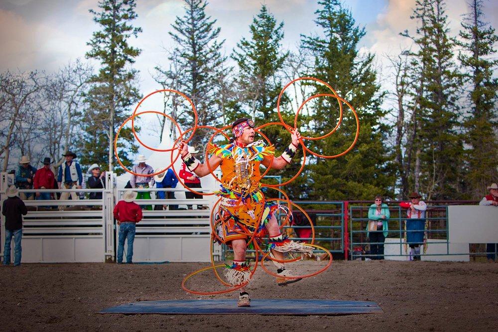 Native Hoop Dancer