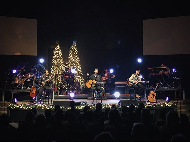 Thanks for having us @baysidesantarosa #AnAcousticChristmas