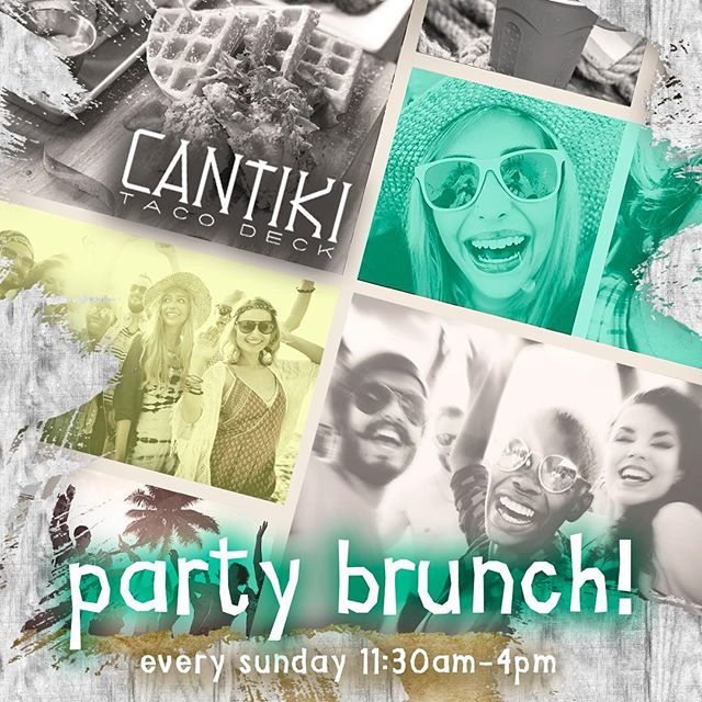 Join us every Sunday at 11:30 am for Party Brunch with drink specials, live DJ, games, raffles and giveaways! For Birthday Party Specials contact Marcela at marcela@cantikisono.com  #sundayfunday #sundaybrunch #brunchparty #birthdaybrunch #norwalknow #203local