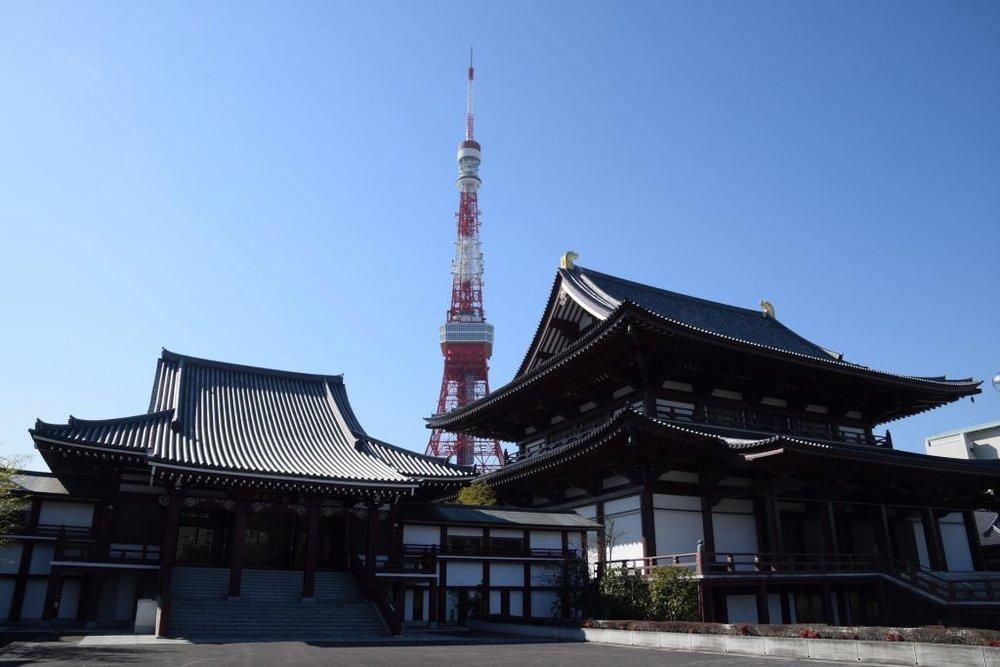 View from Myozenji