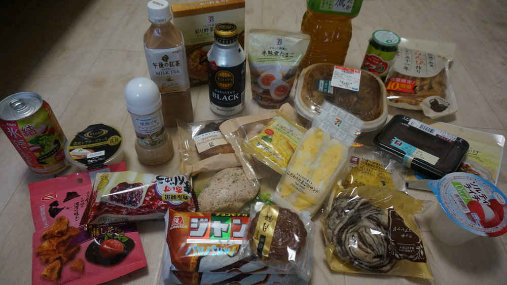 konbini- food in japan- budget travel tokyo- a day away