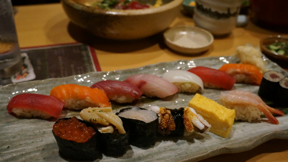 Sushi- tokyo- japan travel- budget lunch- a day away.JPG