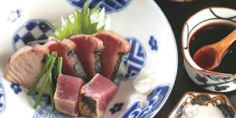 Tuna set at Ibuki