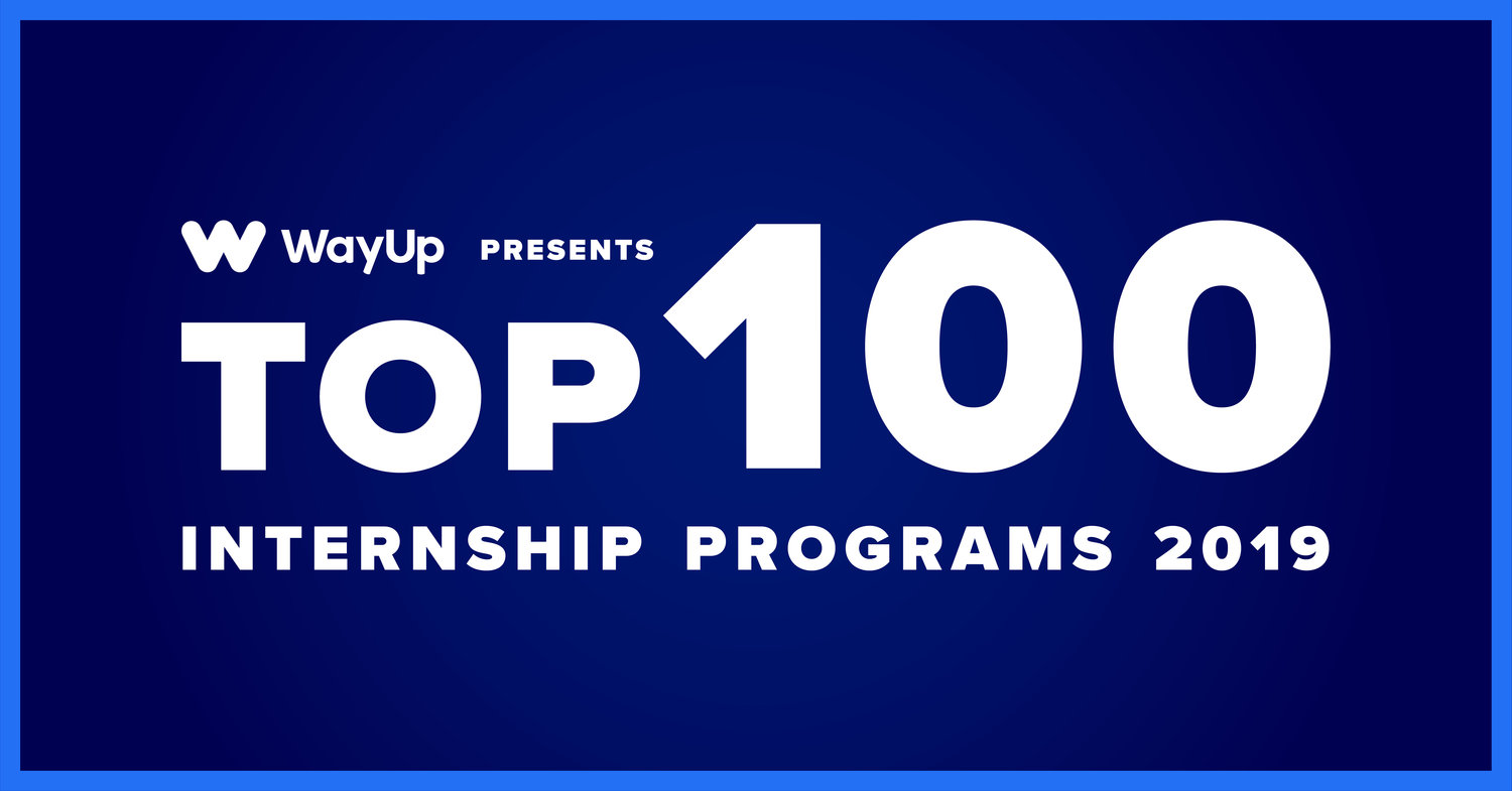 2019 Top 100 Internship Programs — National Intern Day