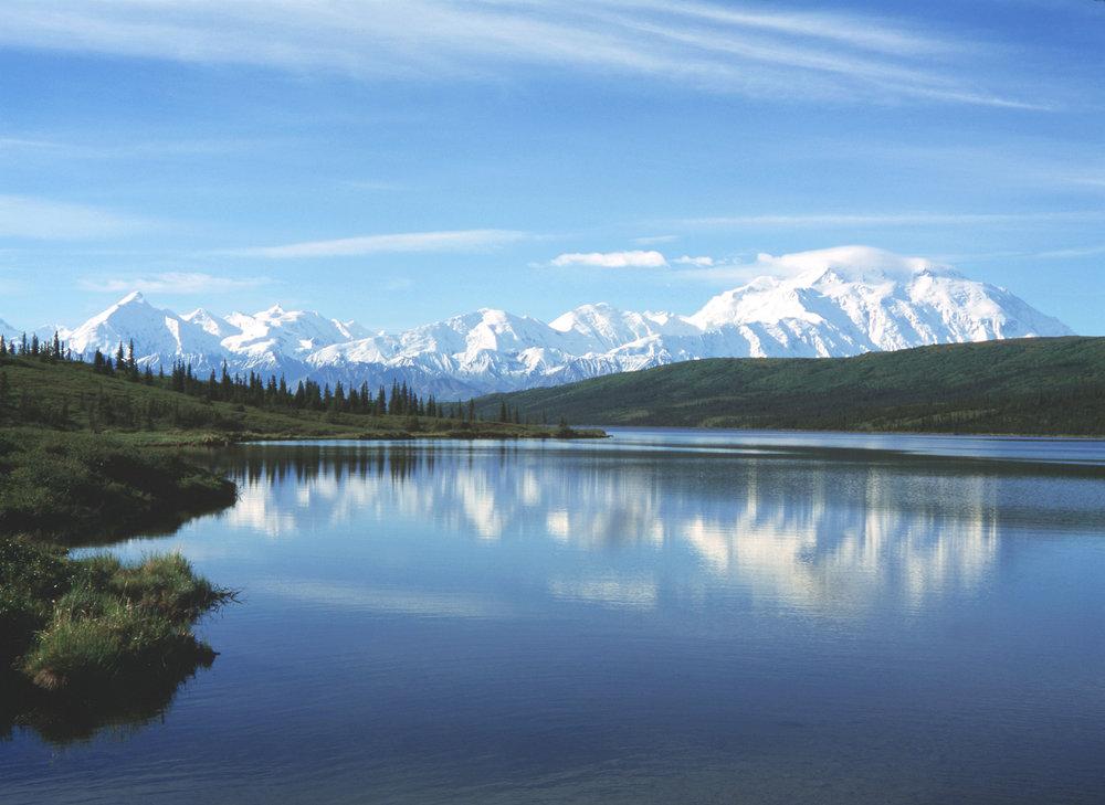 Αρκτικό δάσος, Αλάσκα – παρόμοιο με τη Νάξο κατά την εποχή των παγετώνων.