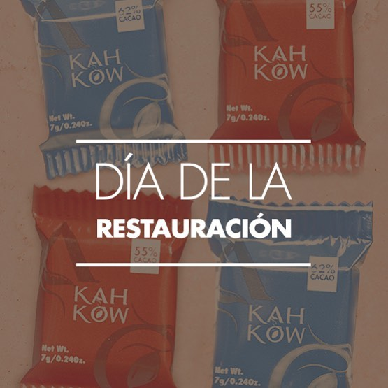 Hoy conmemoramos el 155 aniversario de la Restauración Dominicana. ¡Orgullosos de nuestras raíces, nuestra patria y de ser dominicanos! . . . #Kahkow #ChocolateDominicano #Dominicanos #OrganicChocolate