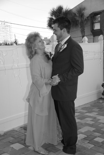 Joshua Wilson (Founder of Modern Man Supply Co.) with his mother in 2008.