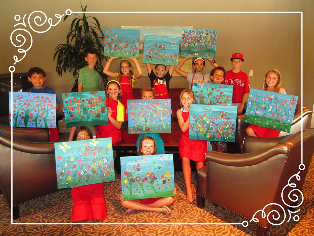 Kids 'n Canvas-Ilahee Golf Club, Salem