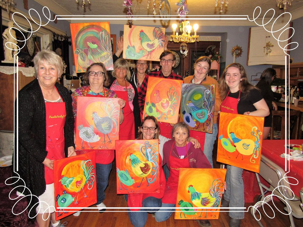 Home Painting Party, Silverton