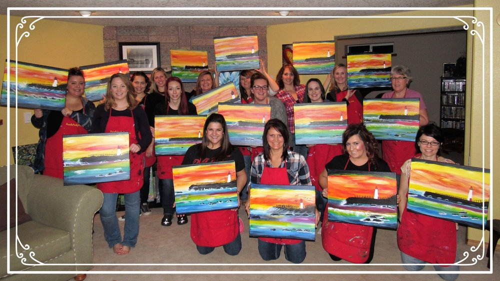Home PaintnParty, McMinnville