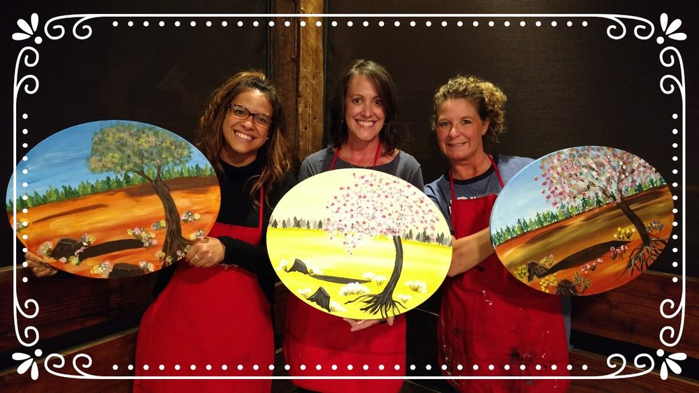 Family Night PaintnParty, The Barberry, McMinnville