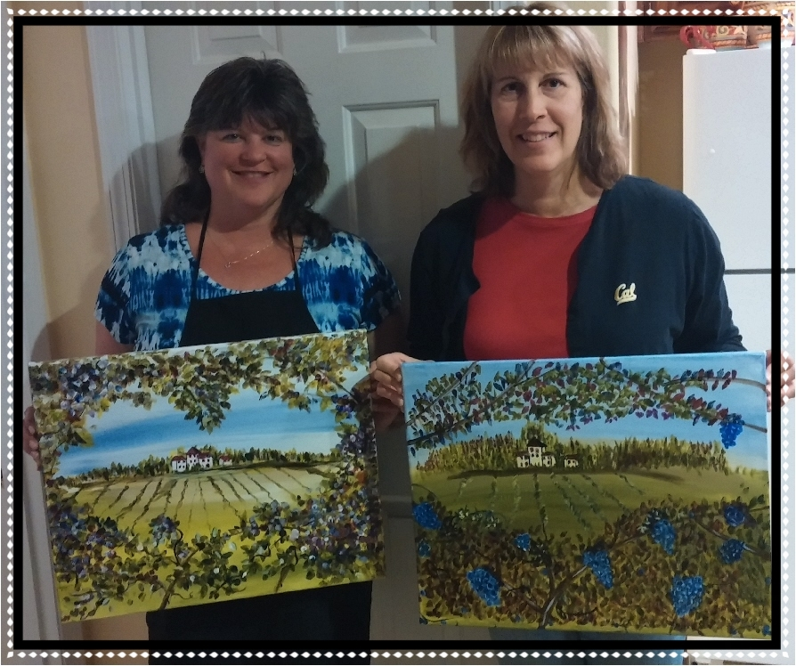 Maxine's Art Studio - One on One PaintnParty