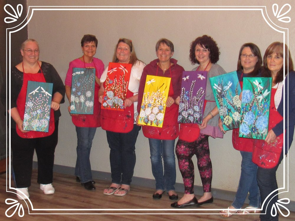 Girls Night PaintnParty, Albany