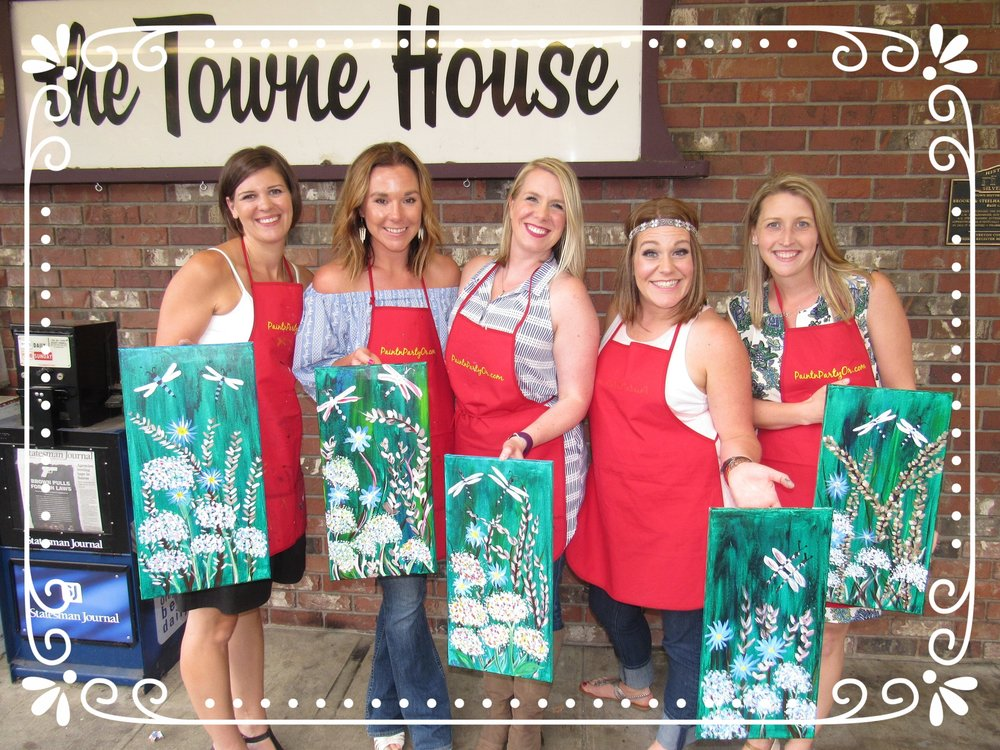 Bridal Showers, Towne House Cafe, Silverton