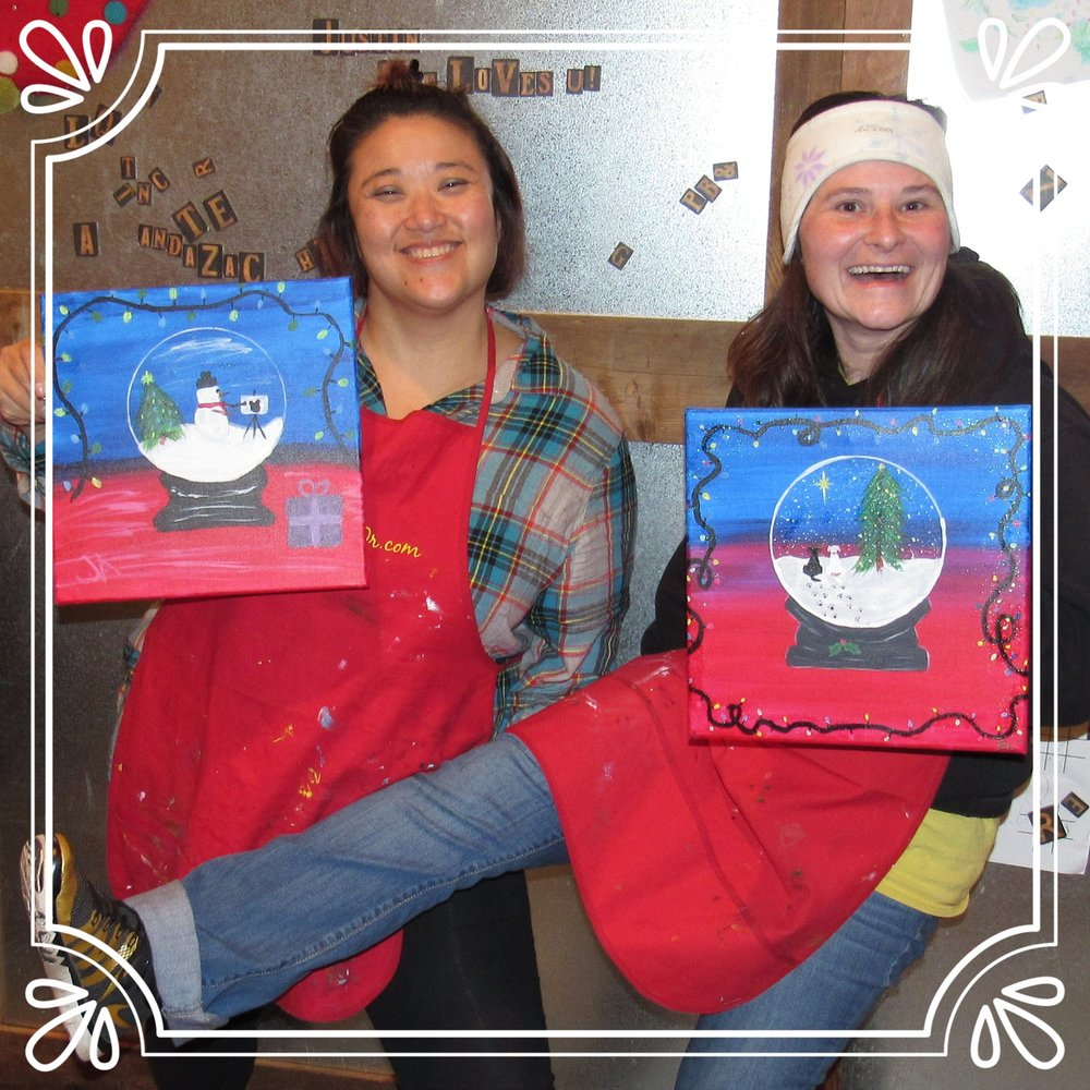 Friends Night Out PaintnParty, Salem