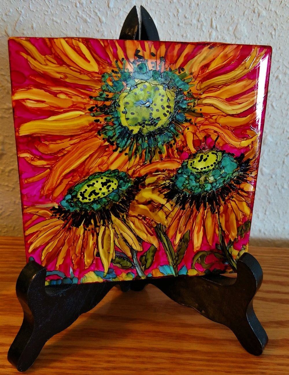 4x4 Sunflowers $15