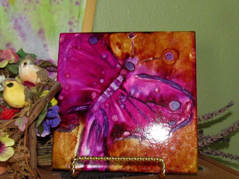 6x6 Butterfly $25
