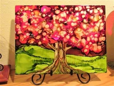 9x12 Cherry Tree $35