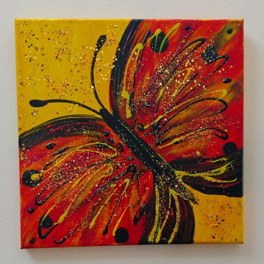 Glitterflies-Monarch $35