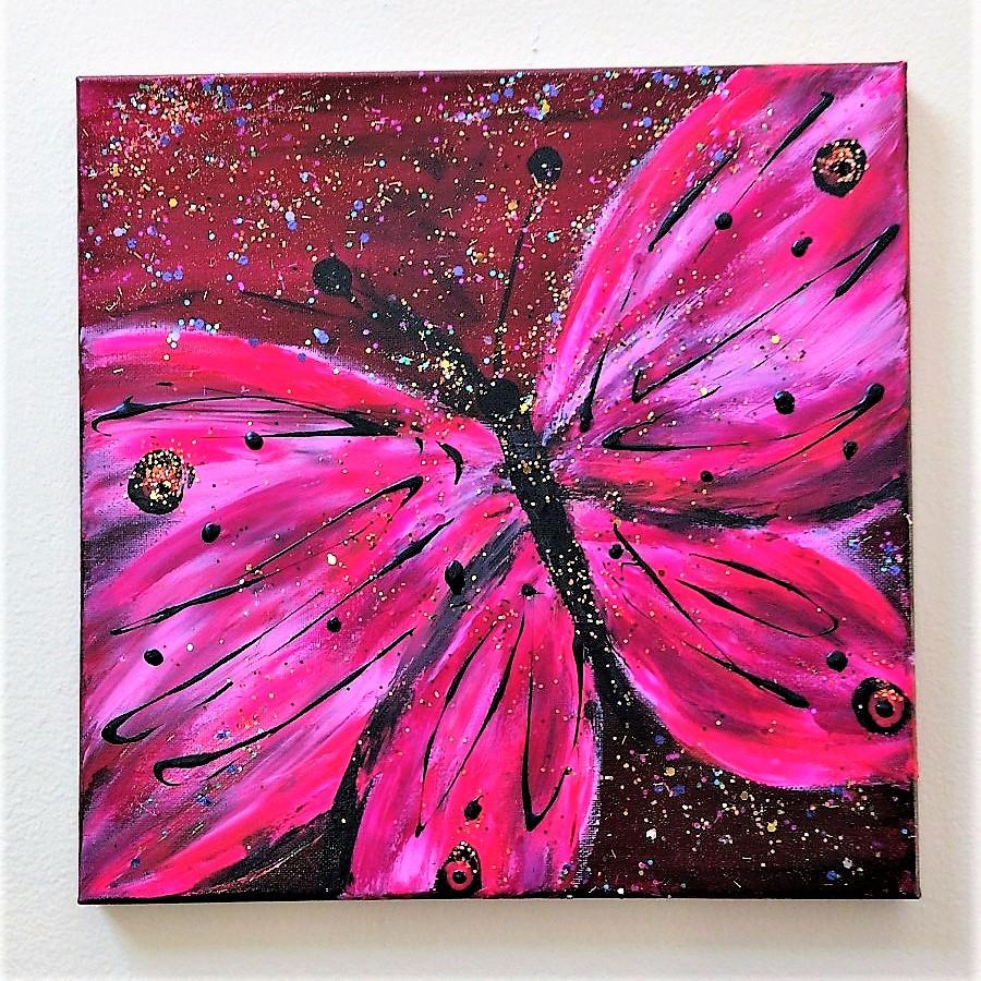 Glitterflies-Pinks $35